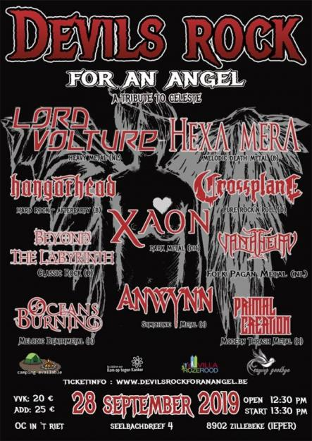 DEVILS ROCK FOR AN ANGEL 2019