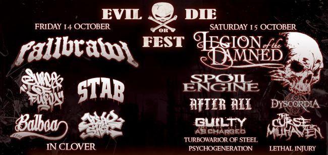 EVIL OR DIE Festival