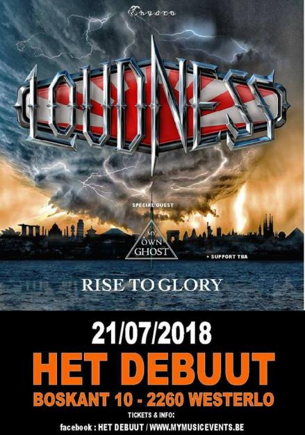 WIN LOUDNESS tickets!!!